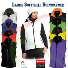 Result Ladies Printable Soft shell Bodywarmer Gilet Micro Fleece Inner Work Wear