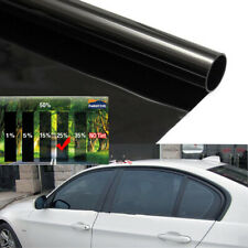 Universal 50cmx3m Black 25% Car Home Glass Window Tint Tinting VLT Pro Film Roll