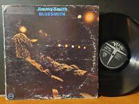 JIMMY SMITH - BLUESMITH Verve Vinyl LP 1972 Soul Jazz VG+ Hammond B3 Organ