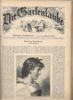 """Theodor Fontane: Unterm  Birnbaum.In """"Die Gartenlaube 1885 """" Erstdruck:"""