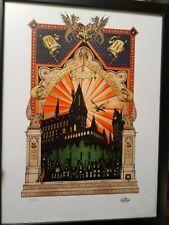 2014 Celebration of Harry Potter print 17/1250 with SIGNED Minalima photo