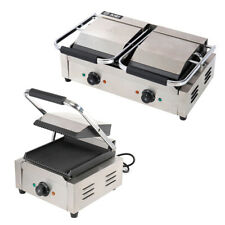 More details for panini press grill commercial sandwich maker for waffle grilled burgers steaks
