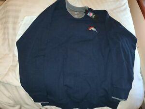 NFL Denver Broncos Antigua Sweater (BNWT) SIZE XL