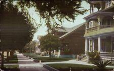 Pomona Ca Residence St. c1910 Postcard