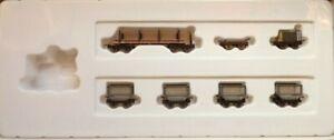 HOn30 MINITRAINS 7 Piece SUGAR CANE TRAIN - NEW In BOX (no loco!)