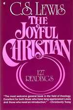 Lewis, C S  THE JOYFUL CHRISTIAN, 127 READINGS Paperback BOOK