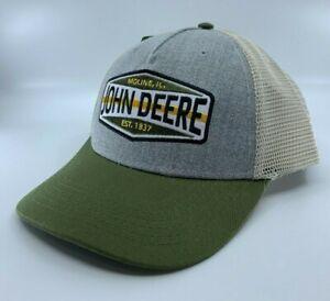 JOHN DEERE GREY/OLIVE CAP CPLP76452