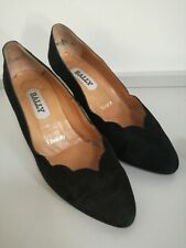 Fabulous Suede Court Shoes by BALLY UK 3.5D