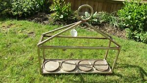 Parlane Heavy Metal Candle / Plant Pot Stand / Herb Garden Stand - ex.condition