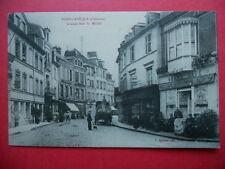 PONT-L'EVÊQUE  :  Grand Café J. CANTEPIE  -  Grande Rue Saint-Michel.