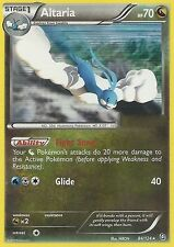 BW DRAGONS EXALTED POKEMON REVERSE HOLO CARD - ALTARIA 84/124