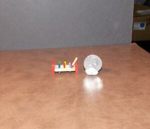 Dollhouse Miniature Wooden Peg Toy  1:12  one inch scale  F17 Dollys Gallery