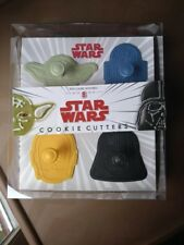 star wars cookie cutter williams sonoma pottery barn kid holiday bake cook SET 8