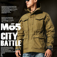 US Army Jacket Men's Military Army Combat Field Coat Casual Clothing