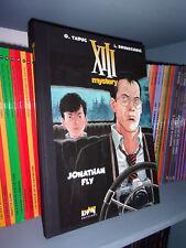 XIII MYSTERY : Jonathan-Fly - Tirage-de-luxe - Taduc/Brunschwig - BD