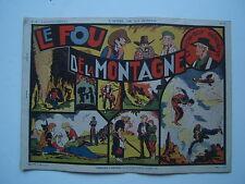 EDITION SAGE / L APPEL DE LA JUNGLE / NUM 18 / HARMAN / LE FOU DE LA MONTAGNE