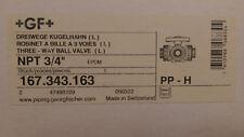New listing Gf Type 343 Ball Valve, Npt P/N 167343163