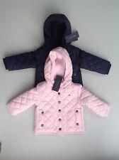 Talla 12 meses Azul Marino Tommy HILFIGER Bebé Niños/'S Acolchado Y Con Capucha Ropa para Nieve