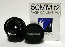 NMIB YASHICA ML 50mm f/1.9 Prime Lens SLR Film Camera Y/C CONTAX Mirrorless DSLR