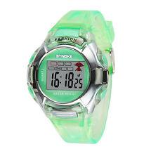 Waterproof Multifunction  Child Boy Girl Sport Electronic Digital Wrist Watch US