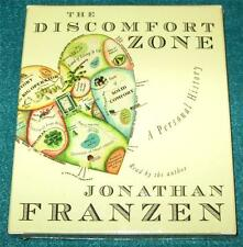 JONATHAN FRANZEN, The Discomfort Zone: A Personal History, AUDIOBOOK, 6 CDs, NEW