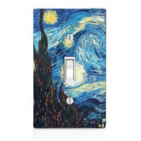 Van Gough Starry Night Wall Plate Toggle Decor Switch Plate Cover