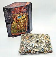 Be Puzzled Buried Blueprints Dinosaur Island 1000 PC Jigsaw Puzzle 1997