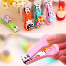 Cute Manicure Cartoon Lollipop Nail Scissors Clippers Keychain Kids Cutters 5897