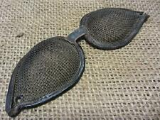 Vintage Leather & Wire Mesh Goggles > Antique Steampunk Rare Design 8167