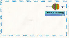 UNITED NATIONS 1975 13c PRE PAID AIR MAIL ENVELOPE MINT / UNUSED NY