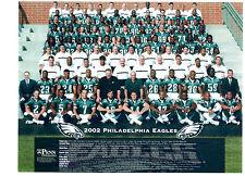 2002 PHILADELPHIA EAGLES  8X10 TEAM PHOTO  FOOTBALL NFL USA