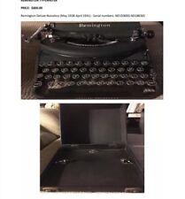 VINTAGE REMINGTON DELUXE NOISELESS PORTABLE TYPEWRITER
