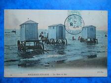 BOULOGNE-SUR-MER  :  Les Bains de Mer...... VO.1908.