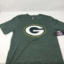 NEW NFL Green Bay Packers Green T-Shirt Soft Cotton Boys Youth Large 14/16