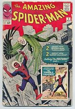 The Amazing Spider-Man #2 (May 1963, Marvel) 1st Vulture! Steve Ditko! [VG+]