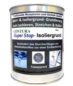 Holz Isoliergrund Sperrgrund Grundierung 19,93€/L Möbel Grund Lack Farbe Shabby