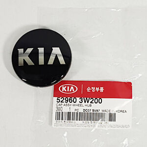 Wheel Center Hub Cap 1pc For Kia Optima Magentis  2011-2015 Genuine 529603W200