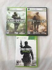 Call Of Duty Modern Warfare Trilogy Bundle Xbox 360 & Xbox One - 2 3 & CoD 4 MW3