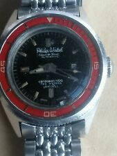 Vintage philip watch caribbean 700 automatic ladies watch ref 703 rotating bezel