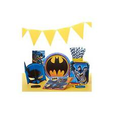 12 Batman Foil Swirl Hanging Decorations Ceiling Birthday Party Supplies DC Boy