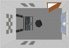 Primacoustic London 8 Acoustic Treatment Room Kit - Fiberglass Panels for 10 ...