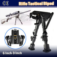 6-9 Inch Adjustable Firearm Hunting Rifle Quick Deploy Shooting Gun Bipod Mount