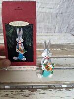 Hallmark Bugs Bunny 1993 Looney tunes carrots ornament Xmas holiday tree new