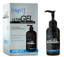 High T Ultra Gel - Enhance Performance, Muscle Defining, Endurance - 4 oz bottle