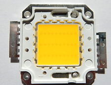 30 W Watt LED Chip 35*35 mil  warmweiss, 2700 Lm,3000K,ww, COB,Fluter, Aquarium