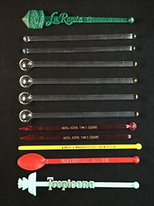 Vintage Swizzle Stick Collection Lot