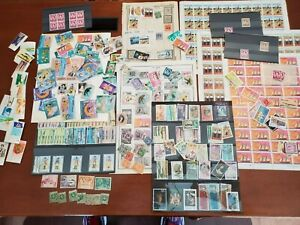 St. Lucia  Desktop Filling Estate Lot of better SHHETS, singles, sets MNH/USED!