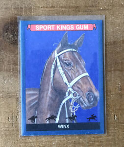 2020 Winx Sport Kings Volume 2 Blue Parallel 81 Horse Racing