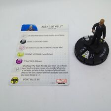 Heroclix Captain America: Winter Soldier set Agent Sitwell #014 Gravity Feed!
