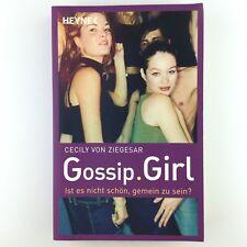 Gossip Girl, Ist es nicht schön, gemein zu sein? von Cecily Ziegesar (2005, Tas…